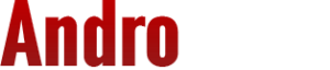 Andro400 Logo red and white